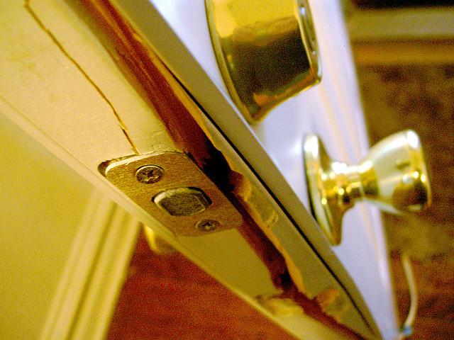 Broken door jamb-Tim Samoff & Broken door jamb-Tim Samoff - Perfect Connections Inc - Central ...