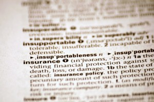 Insurance Definition-Alan Cleaver
