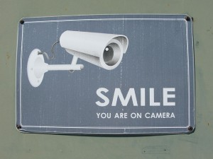 Smile you are on camera sign-Sept 18 2014