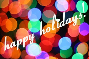Happy Holidays-Melissa Brawner