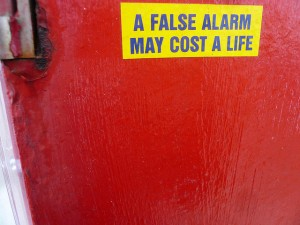 False alarm may cost a life-Shannon Clark